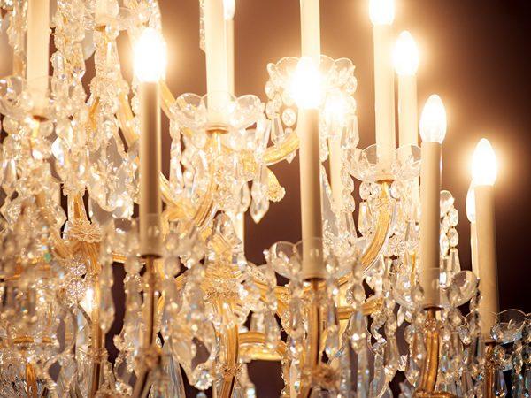 chandelier Hotel Grand Ferdinand